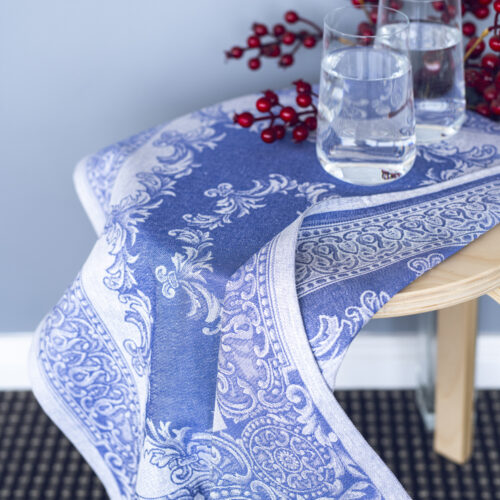 Calypso Jacquard Tea Towel Blue