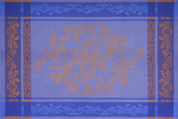 Helga Jacquard Tea Towel Navy Blue